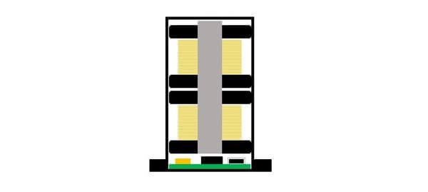 EMGピックアップ構造-シングル